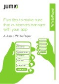 Jumio Mobile App Report july 2014