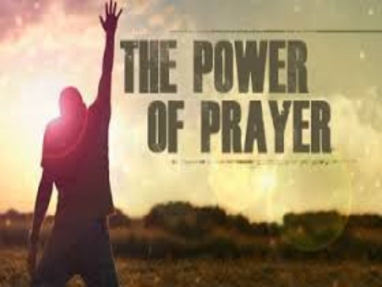 June 12 2016 Sunday Message The Power Of Prayer By Ptr Rey