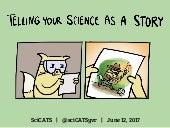 SciCATS Present... Telling Your Science as a Story (June 12, 2017)