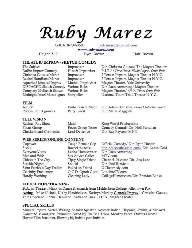 june 2013 resume