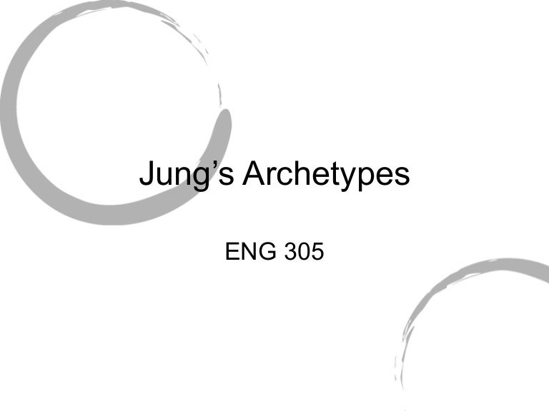 Jung Archetypes Powerpoint