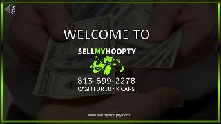 Junk Car Buy And Removal - SellmyHoopty