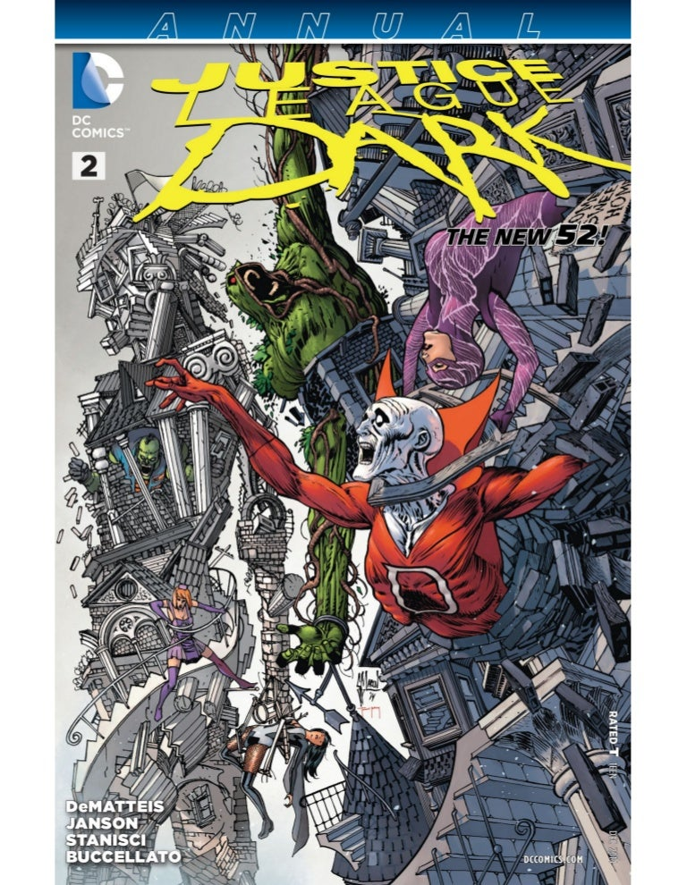 DC Comics JUSTICE LEAGUE DARK ANNUAL #1 first printing
