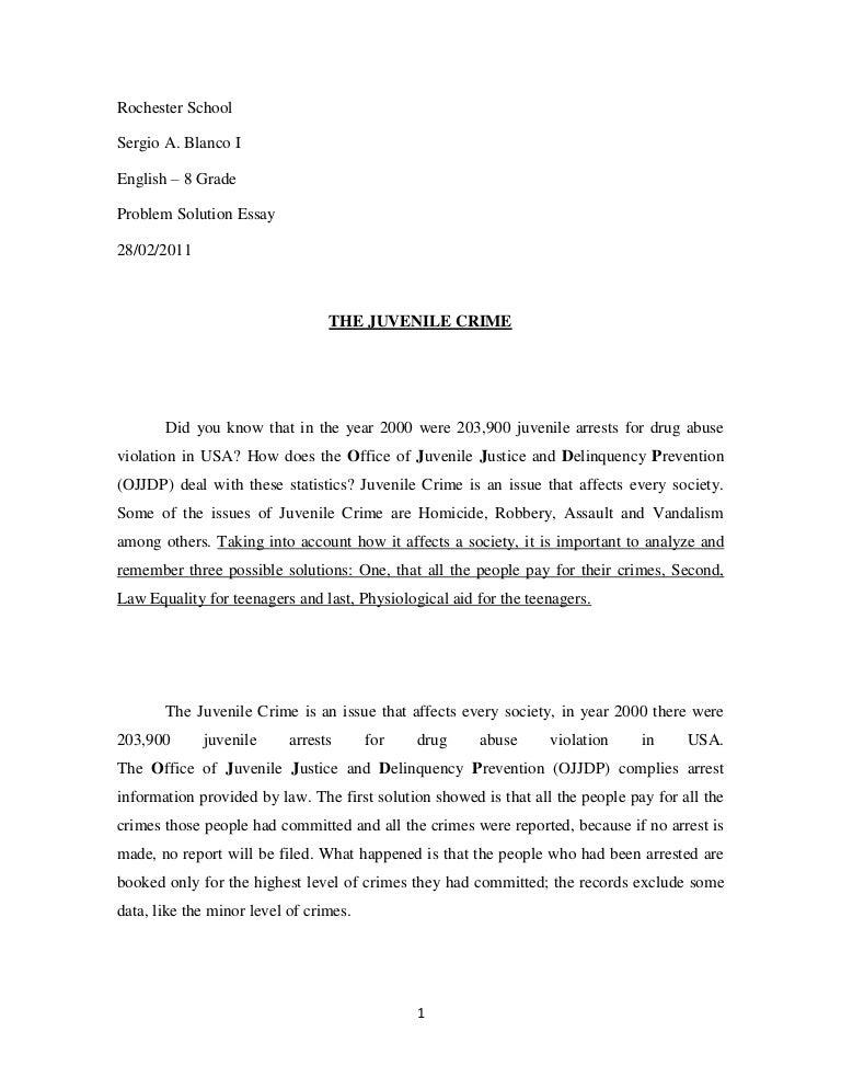 crime essay