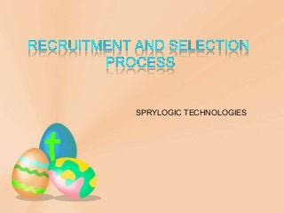 ppt on Recruitment & Selection Process