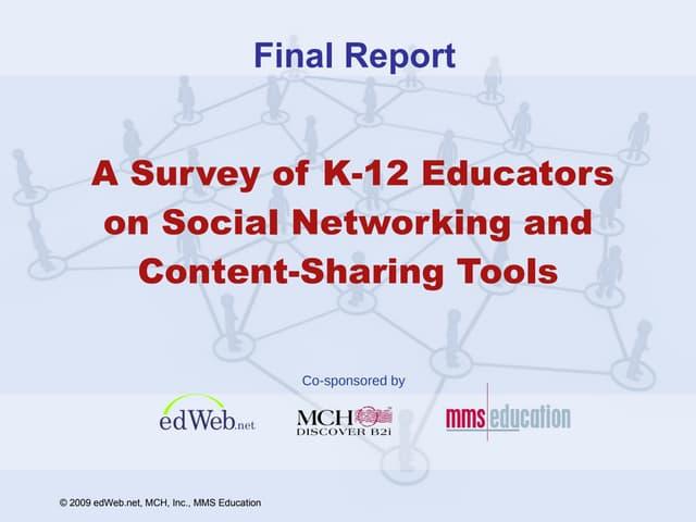 Educators and Social Networking