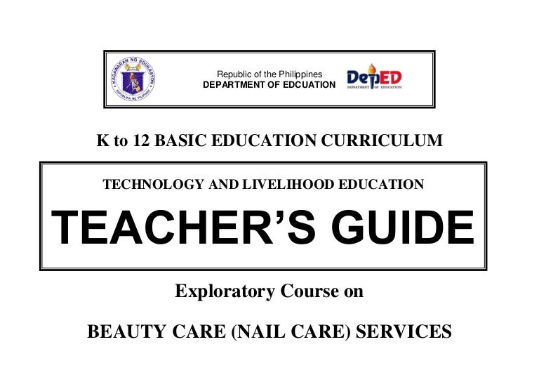 K to 12 nail care teachers guide sciox Gallery