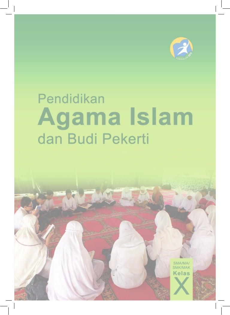 Buku Materi Agama Islam Kelas X Kurikulum 2013