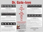 Dr. Gato-Love: How I learned to stop worrying and love the cat