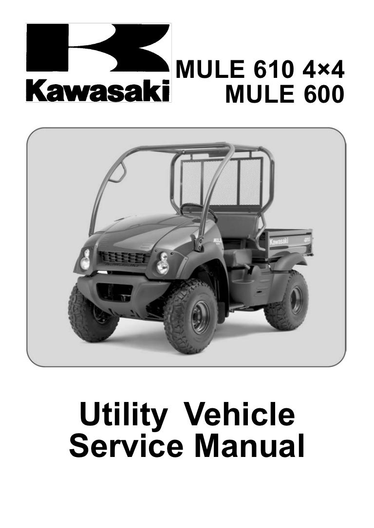 Kawasaki Mule 610 Wiring Diagram: Kaf400 mule 600 610 4x4 705 service manual,Design