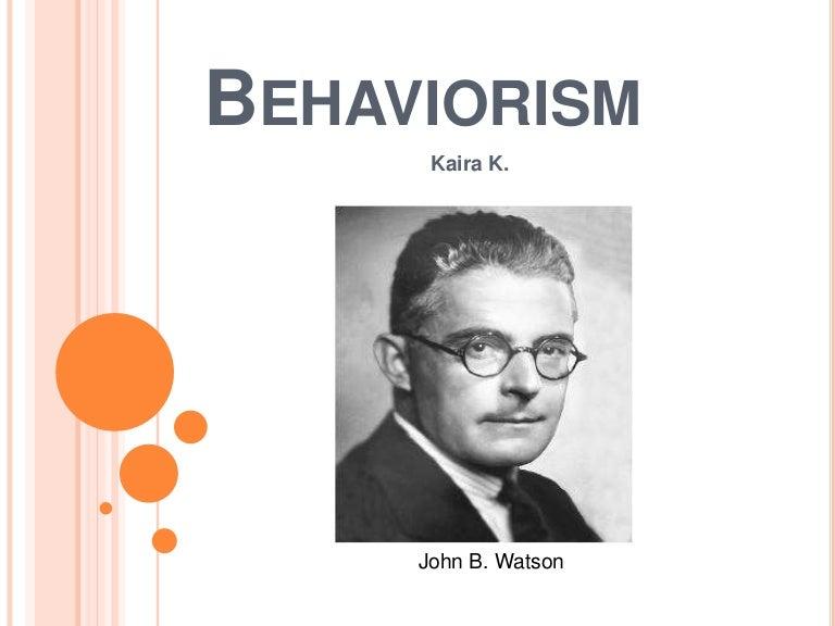 behaviorism powerpoint