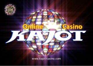 Kajot Online Casino Welcome Bonus - Online Slot Machine - Top 5 Slot Machines in March