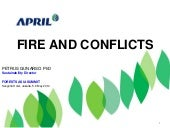 Fire and Conflicts