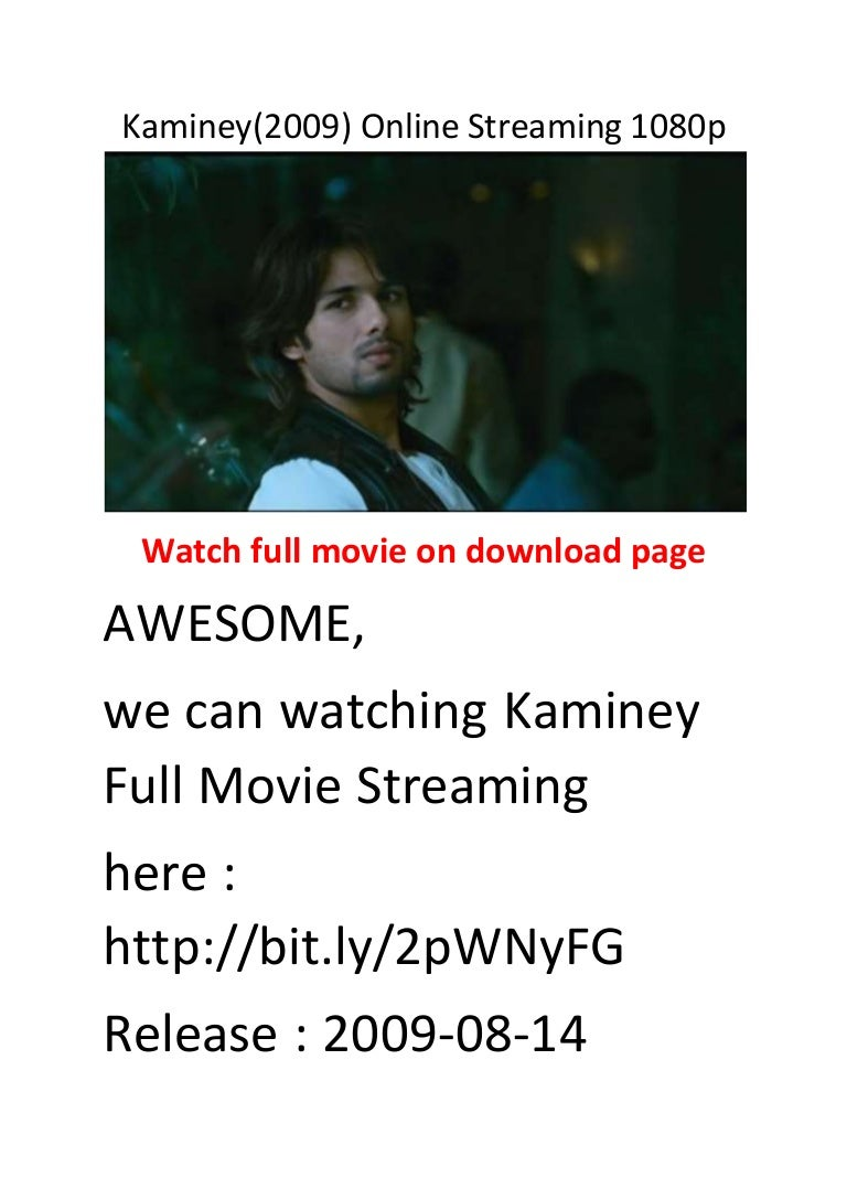 All Comedy Movies In 2009 kaminey(2009) online streaming 1080p ollywood best action