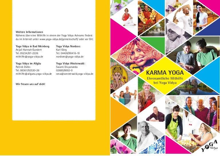 Karma Yoga Bei Yoga Vidya