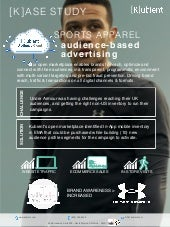[K]ase Study: Sports Apparel Brand Audience-Based Digital Advertising