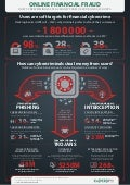 Online financial fraud infographic