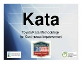 Kata training-2013-manufacturing-conference