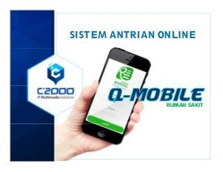 Presentasi Aplikasi Sistem Mesin Antrean Online