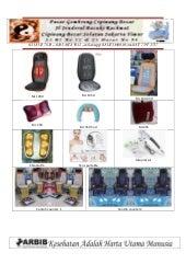Katalog dan display produk Menghitung peluang usaha layanan kursi pijat otomatis
