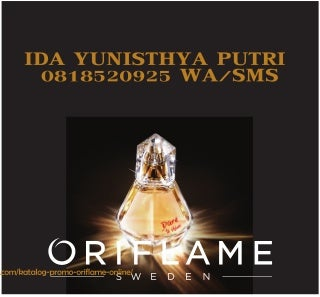Katalog oriflame september 2019 lengkap baru parfum dare to shine