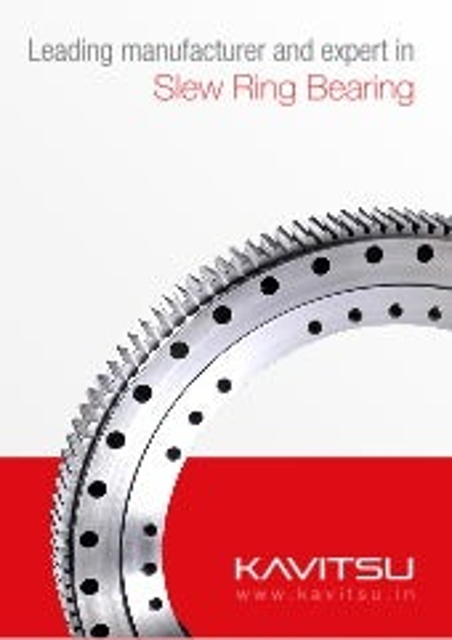 Kavitsu slew ring bearings