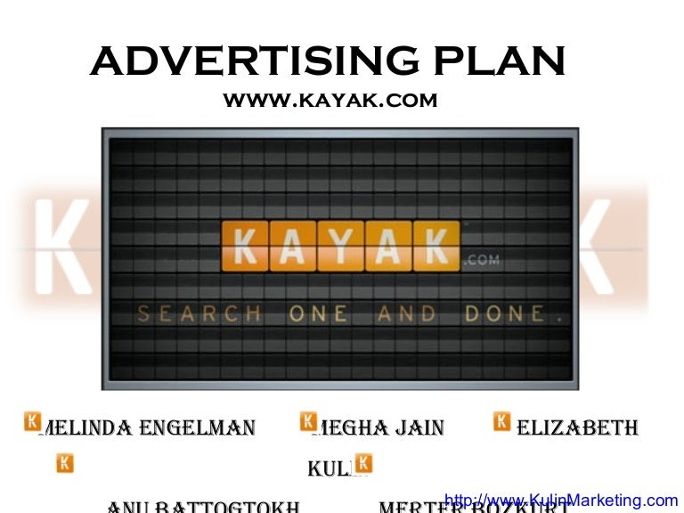 Kayak Advertising Strategy