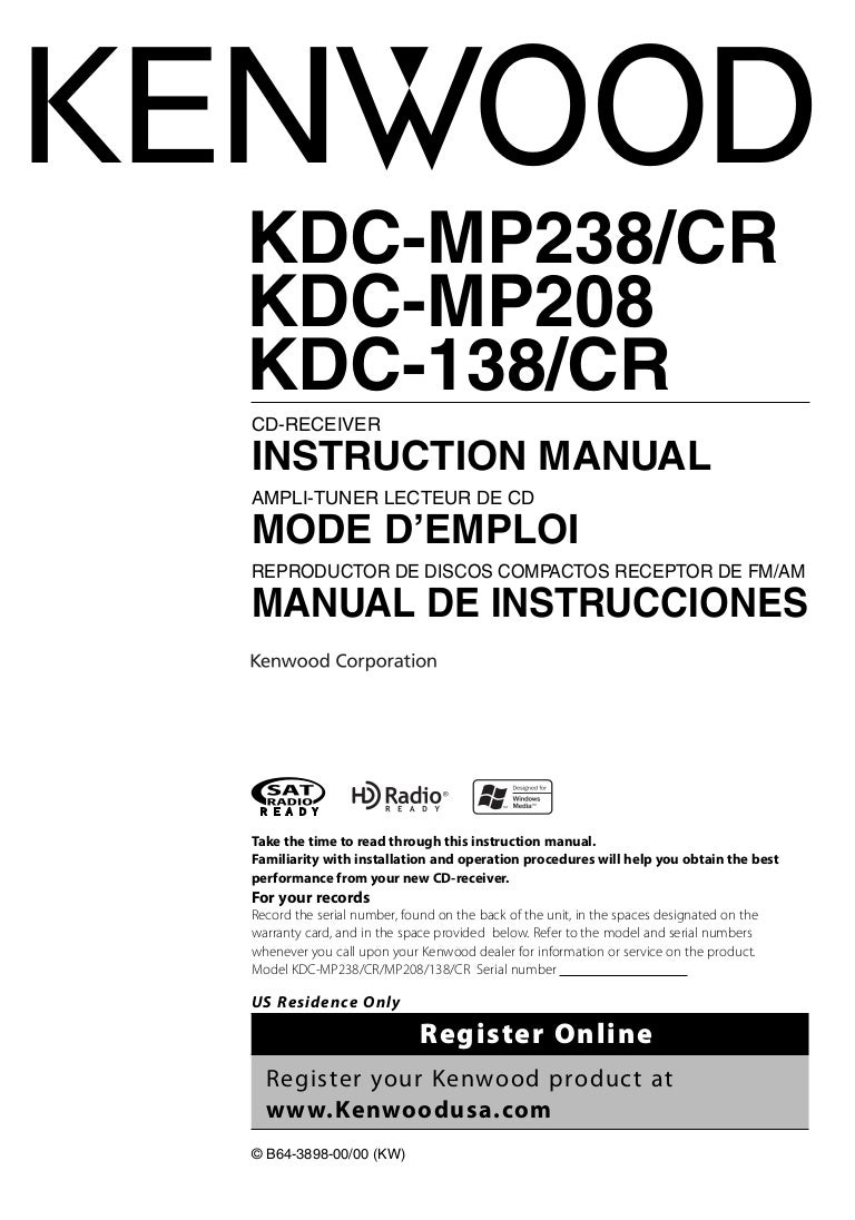 Kenwood Kdc Mp238 Wiring Diagram Free Download Mp338 Colors Kdcmp238 Car Stereo Color Codes At