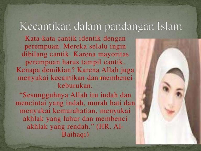 Kecantikan Dalam Pandangan Islam