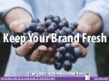 Keep Your Brand Fresh - 4 Tips That Don't Need a Committee - with Tricia Maddrey Baker