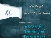 Kefah Team For Training & Recruitment