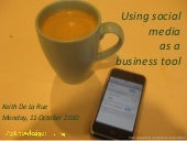 Using social media as a business tool