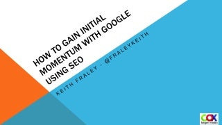 Keith Fraley SEO For WordPress Intro