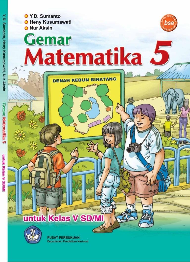 Gemar Matematika 5 Untuk Sd Mi Kelas V