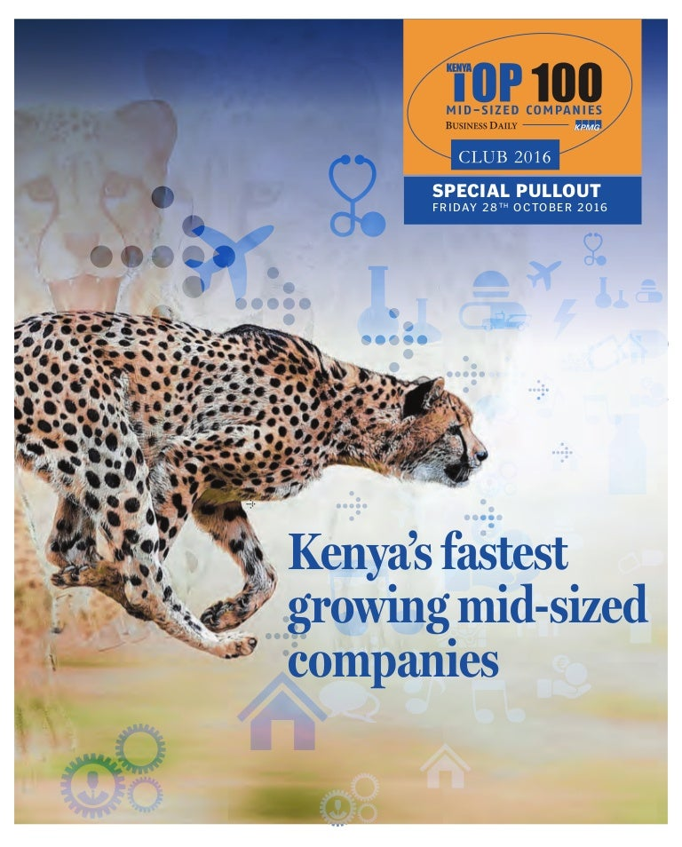 Kenya top100-companies-2016