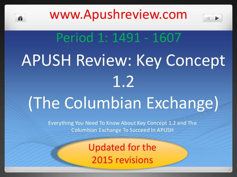 Key concept-1 2-2015-revisions