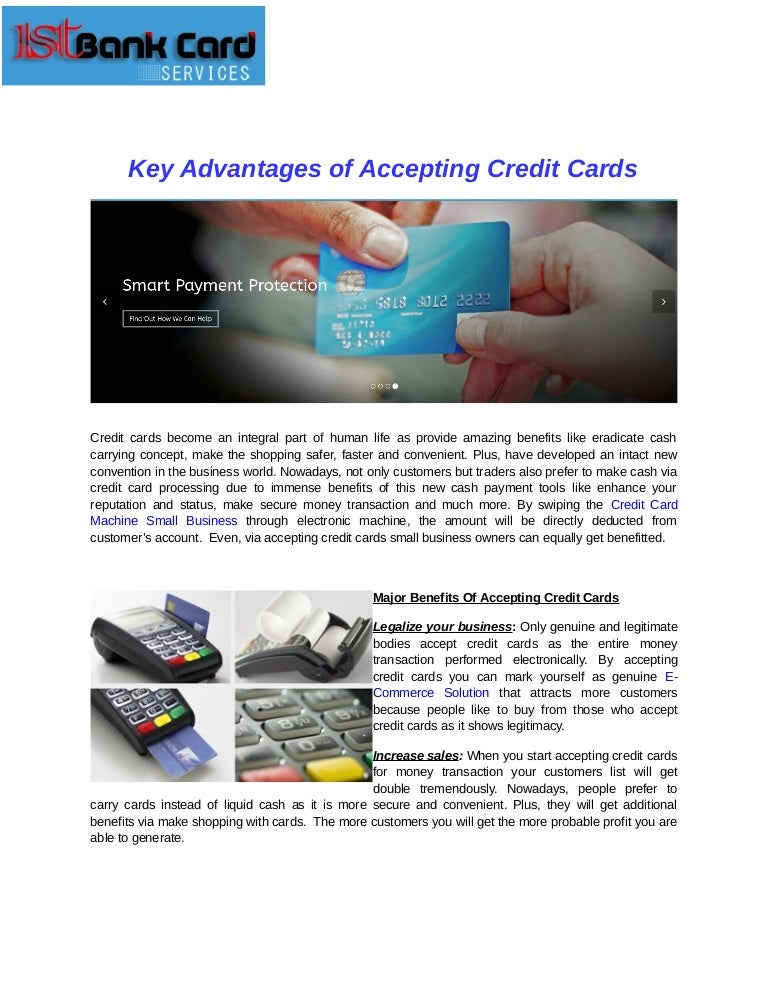 Key advantages of accepting credit cards keyadvantagesofacceptingcreditcards 161130123117 thumbnail 4gcb1480509145 reheart Image collections