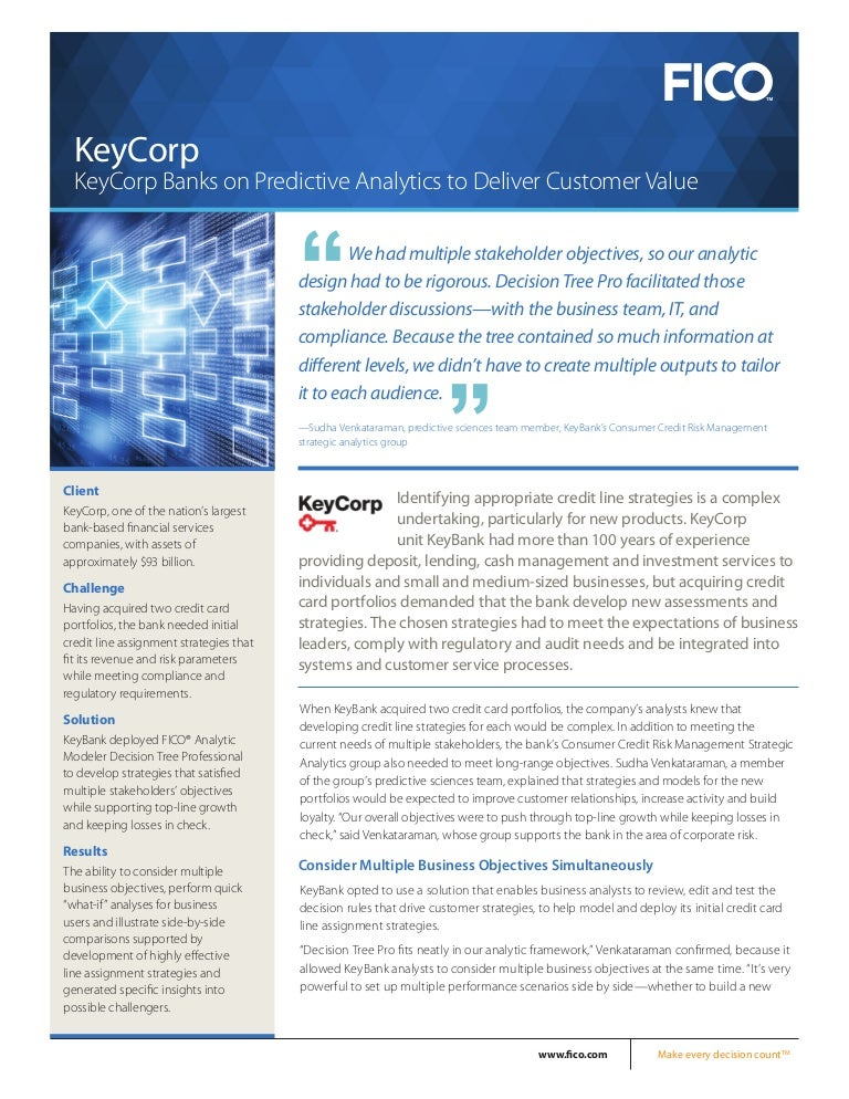 Keycorp banks on predictive analytics to deliver customer value reheart Image collections