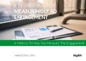 Key Metrics For Measuring Lead Engagement