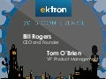 Ektron London Conference: Keynote - Bill Rogers and Tom O'Brien