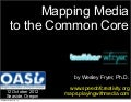 Mapping Media to the Common Core (Oct 2012)