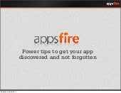 Power tips to get your app discovered and not forgotten