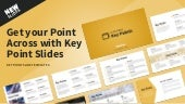 Download Free Key Point Presentation Slide Templates