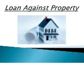 Key points to consider while taking loan against property