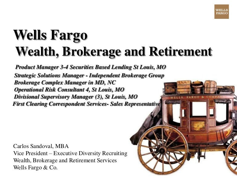 Key Positions At Wells Fargo