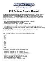 2004 kia rio workshop service repair manual