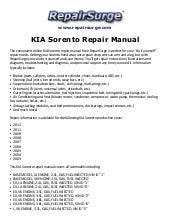 kia rio 2002 service repair workshop manual