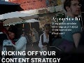 Kicking Off Your Content Strategy at HXDconf