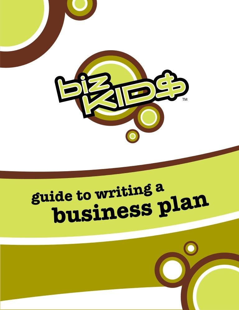 simple business plan for kids
