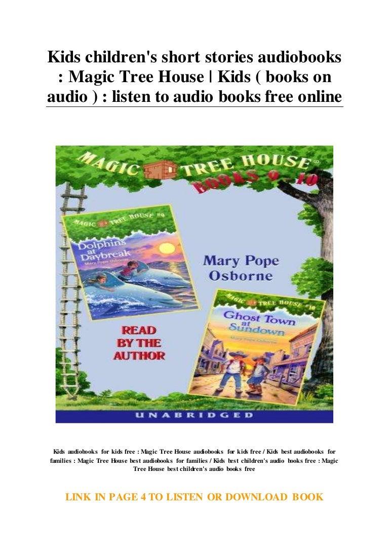 Picture of: Kids Children S Short Stories Audiobooks Magic Tree House Kids